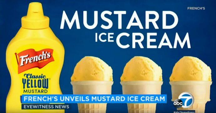 French's inventa il gelato alla mostarda, il prossimo facciamolo al tortellino