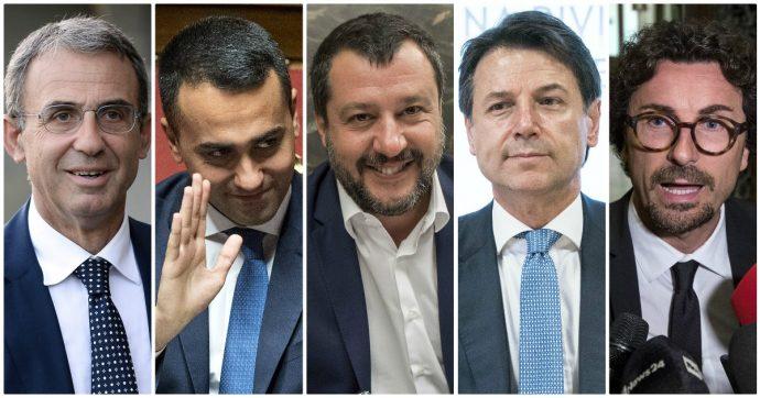 """Governo, Salvini: """"Manovra coraggiosa o voto"""". Scontro con Di Maio sui ministri: """"Alcuni non brillano"""". """"Vuole poltrone? Lo dica"""""""