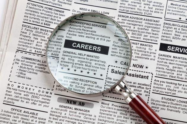 Aggiornare il curriculum online per cercare lavoro, ma la me