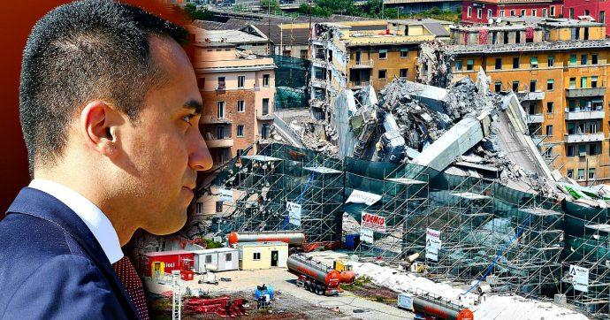 """Ponte Morandi, Di Maio dopo la perizia del Tribunale: """"25 anni senza vera manutenzione. Ora revocare concessioni ad Autostrade"""""""