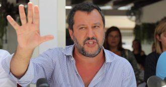 """Salvini: """"Domani sarò al Senato, vedremo se avremo i numeri"""". E su Di Battista: """"Stasera potrei mandarlo a ca…"""""""