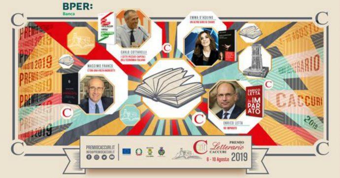Premio Caccuri 2019, da Carlo Cottarelli a Enrico Letta: ecco i finalisti del concorso letterario