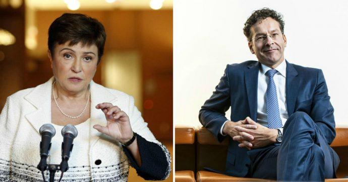 """Fmi, per il dopo Lagarde la Ue indica la direttrice generale della Banca mondiale Georgieva. Battuto il """"falco"""" Dijsselbloem"""