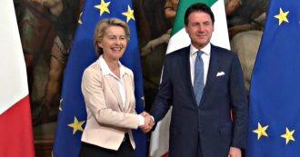 """Migranti, Von der Leyen: """"Nuovo patto, ma solidarietà non è unilaterale. Ue unita ha bisogno di Italia forte"""". Conte: """"Superare Dublino"""""""