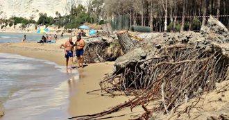 """Agrigento, la spiaggia di Eraclea Minoa è scomparsa: """"150 metri cancellati dall'erosione"""". Stanziati 4 milioni, ma i lavori sono ancora al palo"""