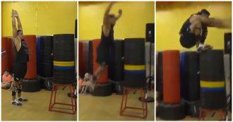 Saltare 163 centimetri da fermo in verticale? Lui ce l'ha fatta: il balzo è da record