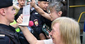 Mosca, nuove proteste antigovernative: più di 600 manifestanti fermati, anche l'unica leader dell'opposizione rimasta in libertà