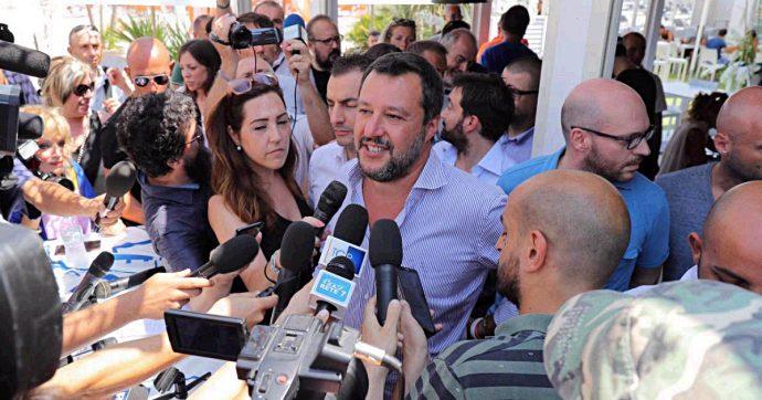 """""""Perché ha mentito su Savoini?"""". Salvini dà del maleducato al solo giornalista che gli fa domande"""
