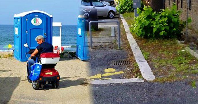Disabili, Pomezia riceve la Bandiera Lilla di città accessibile ma non ha ancora realizzato il piano per eliminare le barriere architettoniche