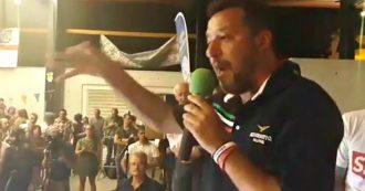 """Tav, Salvini: """"Stia attento chi dice no perché mette a rischio il governo"""". Poi attacca Di Maio e Di Battista"""