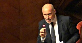 """Governo, De Falco: """"Decreto Sicurezza bis va demolito"""". Ma non chiarisce se voterà la fiducia"""