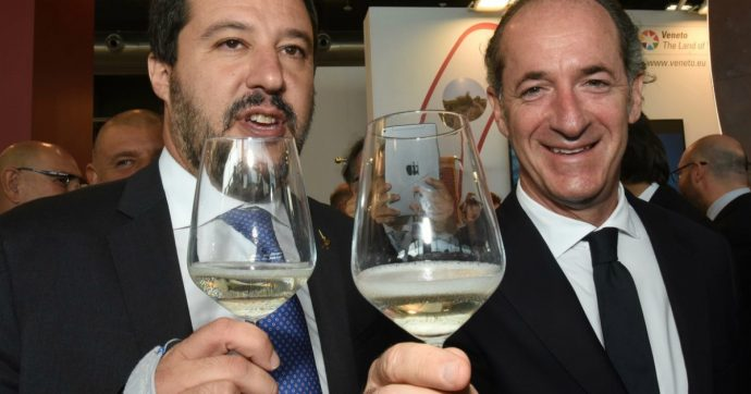 Matteo Salvini, la fiducia crolla di 15 punti in un anno: adesso piace più al Centro che al Nord. E pure Zaia lo straccia in popolarità