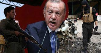 """Siria, Erdogan pronto a """"eliminare i curdi"""". Ma nell'area la Turchia è supportata da gruppi jihadisti: """"Hanno commesso crimini di guerra"""""""