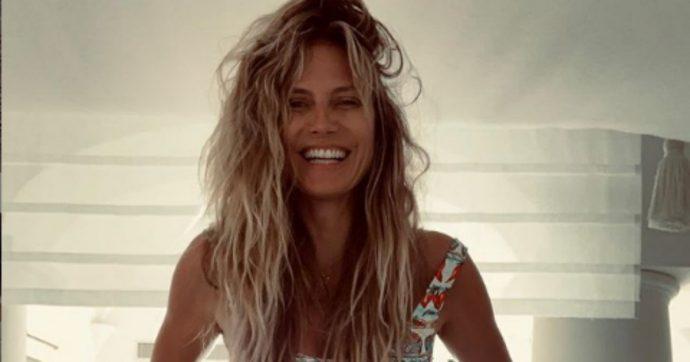 Heidi Klum e il marito Tom Kaulitz fanno il bagno in acque proibite a Capri: rischiano 6mila euro di multa