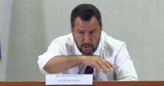"""Giornalista intimidito, Salvini: """"Chi voleva impedire il suo lavoro? Non spetta a me dirlo"""""""