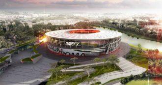 """Stadio della Roma, il club dice no al nuovo impianto a Tor di Valle: """"Progetto divenuto di impossibile esecuzione"""""""