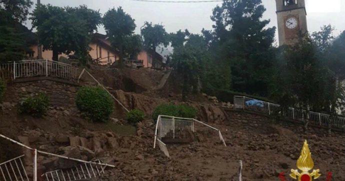 """Maltempo, frane nel Lecchese: oltre 140 persone sfollate a Casargo. Il sindaco: """"Il governo ci dia lo stato di calamità"""""""