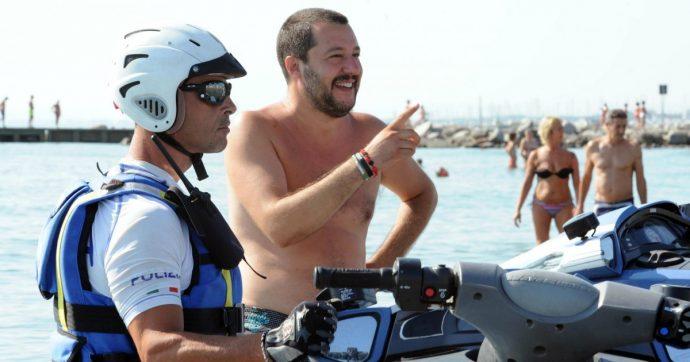 Figlio di Salvini su moto d'acqua, indagati e interrogati tre poliziotti