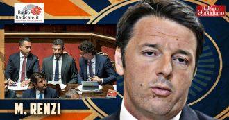 """Tav, Renzi: """"Mozione M5s? Ennesima pagliacciata, figuraccia planetaria. Il movimento imploderà, è questione di mesi"""""""