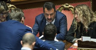 """Salvini getta la maschera e parla come Berlusconi: """"Riformare la giustizia, non è repubblica giudiziaria"""""""