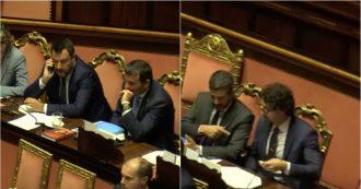 Tav, Salvini e Toninelli si ignorano in aula. Gelo Lega-M5s prima del voto decisivo