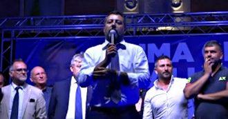 """Governo, Salvini: """"Non mi uscirà mai una parola negativa su Di Maio o Conte ma qualcosa si è rotto negli ultimi mesi"""""""