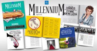 Fq MillenniuM, amore e morte a Palazzo Chigi: in edicola i racconti di sei scrittori