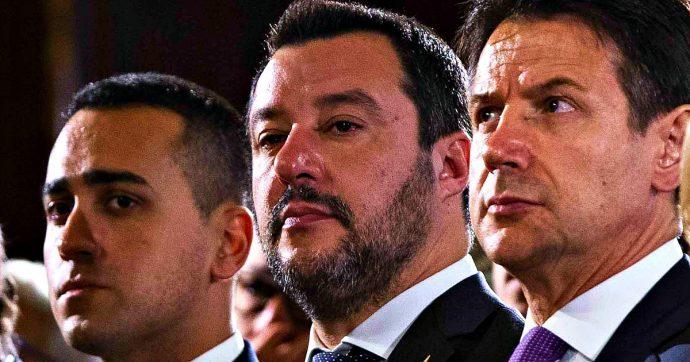 """Crisi di governo, Salvini a Conte: """"Subito in Parlamento, la maggioranza non c'è più"""". Di Maio: """"La Lega ha preso in giro il Paese"""""""