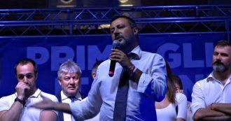 """Governo, Salvini: """"No reddito di cittadinanza e salario minimo a tutti. M5s? Se passi più tempo a litigare bisogna fare scelte da adulti"""""""