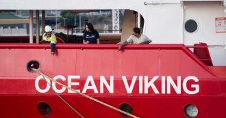 """Ocean Viking, l'Italia assegna porto sicuro dopo accordo redistribuzione: è Lampedusa. Fonti governo: """"58 su 82 a quattro paesi Ue"""""""
