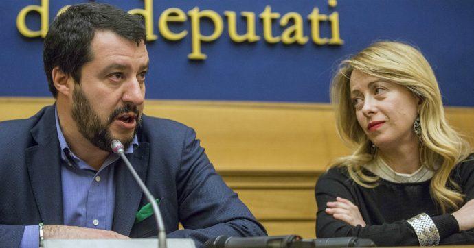 """Crisi di governo, Salvini ci ha già ripensato: """"Non so se correremo da soli"""". Meloni lo tenta: """"Facciamo le alleanze prima delle elezioni"""""""