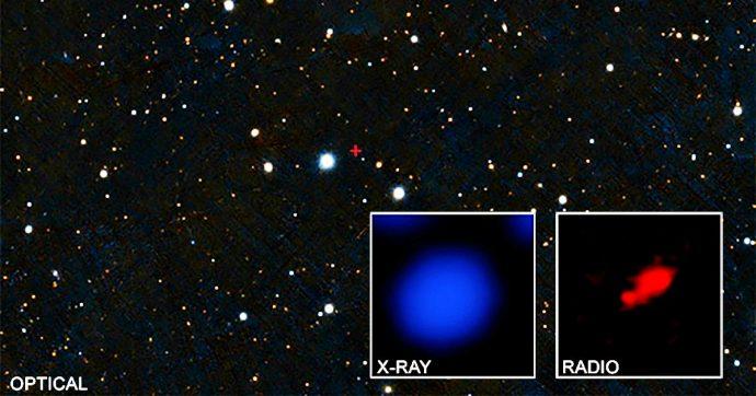 Scovato il buco nero più distante mai osservato grazie al telescopio Chandra della Nasa