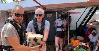 Migranti, Richard Gere a bordo della nave di Open Arms per portare viveri ai 121 naufraghi