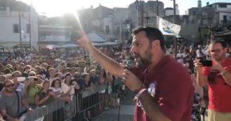 """Crisi, Salvini: """"Prepariamo un governo che va avanti a colpi di sì, non ho tempo di litigare con Di Battista"""""""