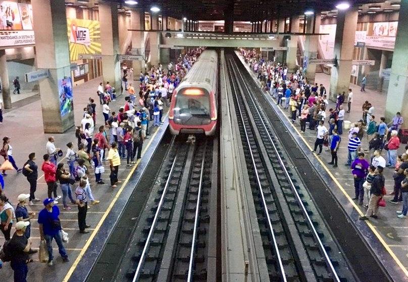 Metro di Caracas (foto Florence Poznanski)