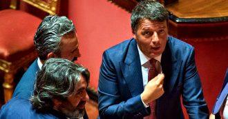 """Crisi di governo, Renzi al Corriere: """"Folle votare subito, prima governo istituzionale per bloccare l'aumento Iva e taglio parlamentari"""""""