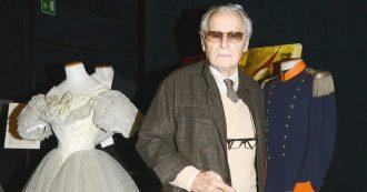 Addio a Tosi, l'uomo che sussurava ai tessuti e regalava premi Oscar