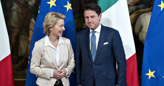 Ue, Conte incontra Von der Leyen a Bruxelles: punti d'incontro su riforma di Dublino, patto di stabilità e investimenti sull'ambiente