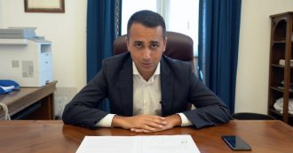 """Di Maio: """"Nessuno vuole sedersi al tavolo con Renzi. Non ci sono giochi di palazzo da fare, vogliamo il taglio dei parlamentari"""""""