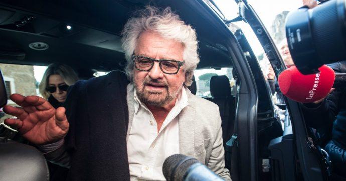 """Beppe Grillo: """"Renzi come Salvini è passato alla minchiata d'impulso. Il rischio è di svegliarci tutti con Pontida capitale"""""""