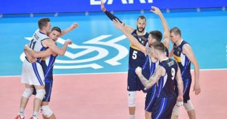 Volley, l'Italia maschile si gioca la finale degli Europei contro la Slovenia