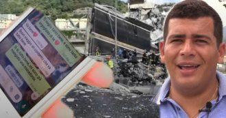"""Ponte Morandi, il racconto del fratello di una vittima: """"Ho visto la carcassa della sua auto, i responsabili sperano che Italia dimentichi"""""""