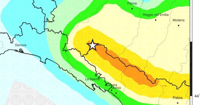 Parma, scossa di terremoto di magnitudo 3.9 con epicentro a Borgo Val di Taro