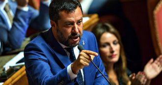 """Crisi, Salvini non lascia il Viminale: """"Rimango al ministero, non la do vinta. Non darò la soddisfazione di togliere il disturbo"""""""
