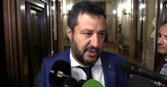 """Crisi, Salvini: """"Anche con il taglio dei parlamentari si può votare a ottobre con la legge attuale"""""""