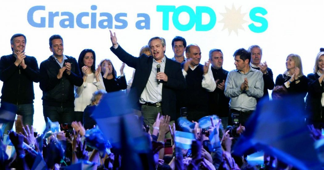 Macri battuto dal peronista Fernández