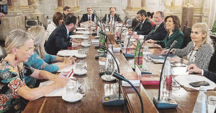 In Edicola sul Fatto Quotidiano del 13 Agosto: Prima sberla a Salvini: nasce la maggioranza M5S-Pd-LeU