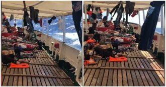 """Migranti, onde alte e vento forte sulla nave di Open Arms: """"Situazione drammatica"""""""