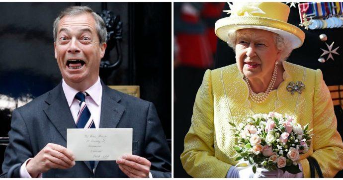 """""""La Regina Madre un'accanita bevitrice di gin, Harry e Meghan? Irrilevanti"""": l'attacco di Nigel Farage contro la Famiglia Reale"""