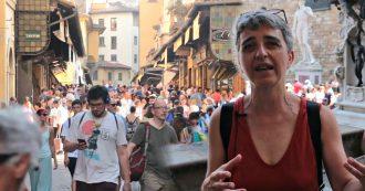 """Firenze schiacciata dal turismo di massa: """"Il centro è stato stravolto, i commerci tradizionali ormai si contano sulle dita delle mani"""""""